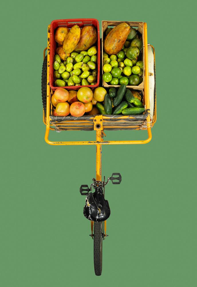 Triciclo frutas